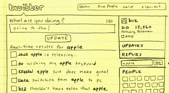Search integration sketch from early July 2008