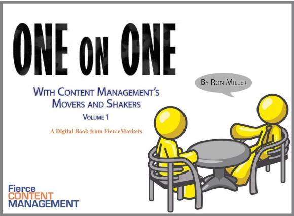 One on One with Content Management's Movers and Shakers