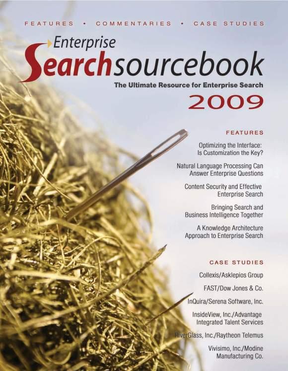 Enterprise Search Sourcebook 2009